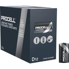 DUR PC1300 Duracell Procell Alkaline D Batteries DURPC1300
