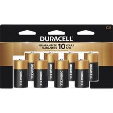 DUR MN14RT8Z Duracell Coppertop Alkaline C Batteries DURMN14RT8Z