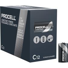 DUR PC1400 Duracell Procell Alkaline C Batteries DURPC1400
