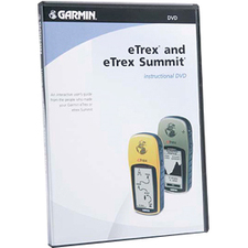 Garmin eTrex and eTrex Summit Instructional DVD Hardware Manual