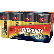 EVE A938 Energizer Eveready Gold Alkaline C Batteries EVEA938