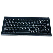 Solidtek Mini 88 Keys POS Keyboard Black USB KB-595BU