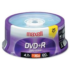 Maxell 639011 DVD Recordable Media