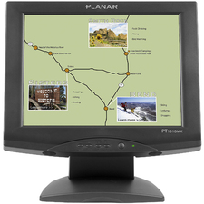 "Planar PT1510MX Black 15"" Touchscreen Monitor"