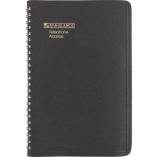 AAG 8001105 At-A-Glance Large Telephone/Address Book AAG8001105