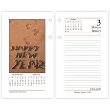 AAG E41750 AT-A-GLANCE Photographic Desk Calendar Refill AAGE41750