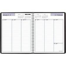AAG G59000 At-A-Glance DayMinder Open Scheduling Wkly Planner AAGG59000