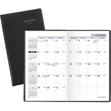 AAG SK5300 At-A-Glance DayMinder 14-mth Bkbnd Pocket Planner AAGSK5300