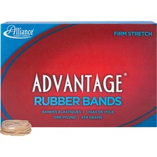 ALL 26125 Alliance Advantage 1 lb Box Rubber Bands ALL26125