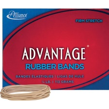 ALL 26199 Alliance Advantage 1/4lb Box Rubber Bands ALL26199