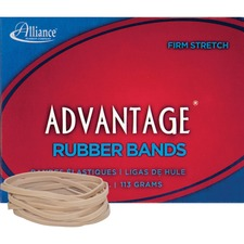 ALL 26329 Alliance Advantage 1/4lb Box Rubber Bands ALL26329