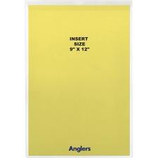 ANG 1468FL10 Angler's Sturdi-Kleer Vinyl Envelopes w/Flaps ANG1468FL10