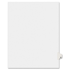 AVE 01423 Avery Individually Lettered Tabs Legal Dividers AVE01423
