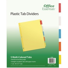 AVE 11465 Avery Index Maker Translucent Multi Label Dividers AVE11465