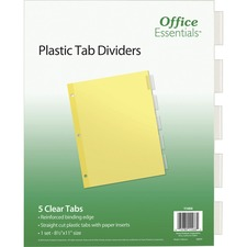 AVE 11466 Avery Office Essentials Econ. Insertable Tab Dvdrs AVE11466