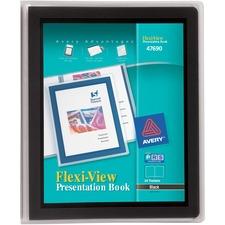 AVE 47690 Avery Flexi-View Presentation Books AVE47690