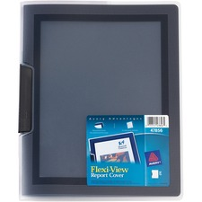 AVE 47880 Avery Swing Clip FlexiView Report Folders AVE47880