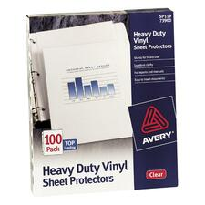AVE 73899 Avery Vinyl Heavyweight Sheet Protector AVE73899