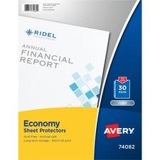 AVE 74082 Avery Nonstick Polypropylene Sheet Protectors AVE74082