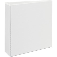 "Avery Heavy-Duty Reference View Binder - Letter - 8.5"" x 11\"" - 670 Sheet - 3\"" Capacity - 1 Each - White"