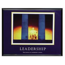 AVT 78035 Advantus Motivational Leadership Framed Poster AVT78035