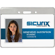 BAU 47810 Baumgartens Sicurix Proximity Badge Holders BAU47810