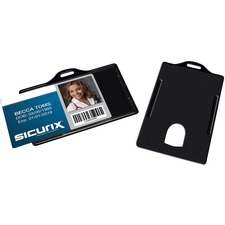 BAU 68310 Baumgartens Sicurix ID Badge Card Holders BAU68310