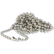 BAU 69137 Baumgartens Sicurix Nickel Plated Bead Chains BAU69137