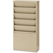 BDY 8116 Buddy 5-Pocket Literature Display Racks BDY8116