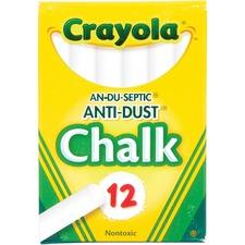 CYO 501402 Crayola Anti-Dust Chalk CYO501402