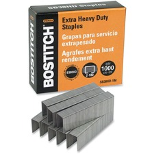 BOS SB38HD1M Bostitch SB38HD Heavy Duty Premium Staples BOSSB38HD1M