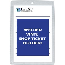 CLI 80058 C-Line Vinyl Shop Seal Ticket Holders CLI80058