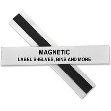 CLI 87227 C-Line Hol-Dex Magnetic Shelf/Bin Label Holders CLI87227