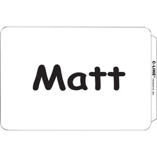 CLI 92377 C-Line Laser/Inkjet Self-adhesive Name Badges  CLI92377