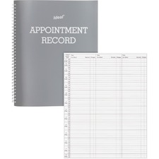 DOM 40977 Dome Wirebound Appointment Record DOM40977