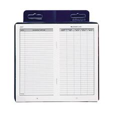 DOM 771 Dome Publishing Deluxe Auto Mileage Log Book DOM771
