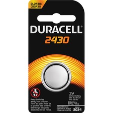 DUR DL2430BPK Duracell 3-Volt Lithium Batteries DURDL2430BPK