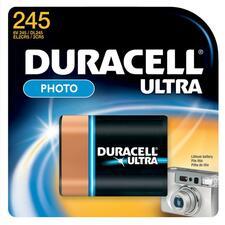 DUR DL245BPK Duracell Lithium Photo 6-Volt Batteries DURDL245BPK