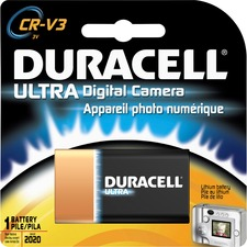 DUR DLCRV3BPK Duracell Ultra 3-Volt Digital Camera Battery DURDLCRV3BPK