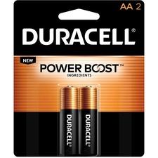 DUR MN1500B2Z Duracell CopperTop Alkaline AA Batteries DURMN1500B2Z