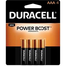 DUR MN2400B4Z Duracell CopperTop Alkaline AAA Batteries DURMN2400B4Z