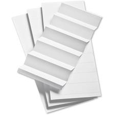 PFX 343 Pendaflex 1/3 Cut Hanging File Insert Strips PFX343