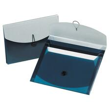 ESS 50965 Pendaflex Four-Pocket Poly Slide File ESS50965