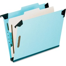 PFX 59351 Pendaflex Blue Pressbrd Hanging Classifictn Folder PFX59351