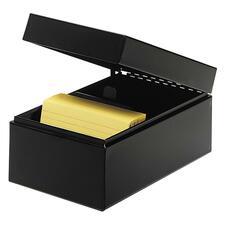 MMF 263835BLA MMF Industries All-Steel Card File Box MMF263835BLA