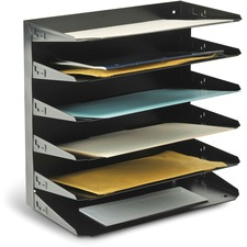 MMF 2646HLBK MMF Horizontal Desk File Trays