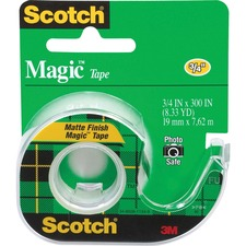 MMM 105 3M Scotch Dispensing Matte Finish Magic Tape  MMM105