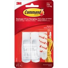 Command Medium Reusable Adhesive Strip Hook