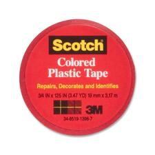 MMM 190RD 3M Colored Vinyl Plastic Tape MMM190RD