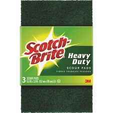 MMM 223 3M Scotch-Brite Heavy Duty Scour Pads MMM223